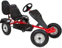 TecTake - 2 Sitzer Go-Kart/Tretauto rot