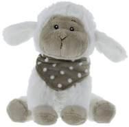 Schaf - aus Plüsch - ca. 18,5 x 21 x 16,5 cm