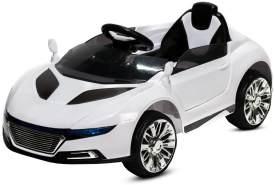 Kidcars Kinder Elektroauto, MP3, Fernbedienung, weiß