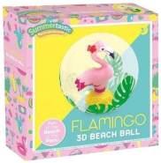 strandball Flamingo 3D30 cm Vinyl