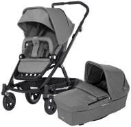 britax-romer 2000025720Go Next Black & Prambody Kinderwagen und Kinderwagen, grey melange