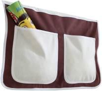 Ticaa Bett-Tasche für Hoch- und Etagenbetten - braun-beige