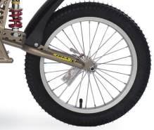 Croozer Unisex– Erwachsene Laufrad-3092049050 Laufrad, grau, One Size