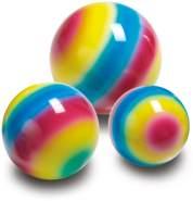 Ein bunter Regenbogenball, 25 cm Durchmesser, von Togu