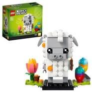 LEGO® BrickHeadz 40380 'Osterlamm', 192 Teile, ab 10 Jahren, inkl. Ostereier und Tulpe
