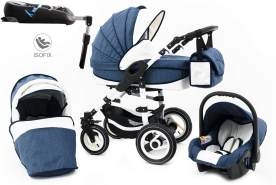 Tabbi 'ECO LN' Kombikinderwagen 4 plus in 1, Blue