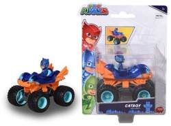 Simba Dickie Toys 203141015 - PJ Masks Single Pack Cat-Car Mega Wheelz