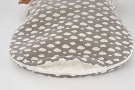 Träumeland Außenschlafsack Wolke grau, Größe 50/56
