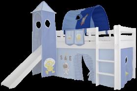 Mobi Furniture Tunnel für Hochbett blau