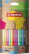 Stabilo Fasermaler Pen 68 Mini mySTABILOdes 12 ST in 12 Farben