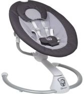 BabyGo 'Homey' elektrische Babyschaukel, Schwarz