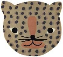 """Kinderteppich """"Leopard"""", 84 x 94 cm, camelfarben, von OYOY"""