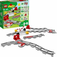 LEGO Duplo 10882 Eisenbahn Schienen, 23 Teile, ab 2 Jahren