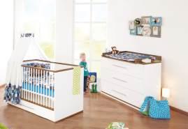 Pinolino 'Tuula' 2-tlg. Babyzimmer-Set weiß, breit
