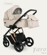 Camarelo Faro 3in1 Kombikinderwagen 3in1 beige/kupfer