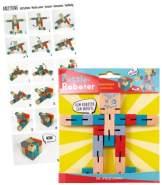 Puzzle-Roboter Bunte Geschenke
