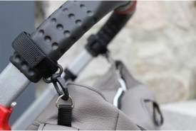Hartan '9922' Befestigungssystem für Wickeltaschen schwarz