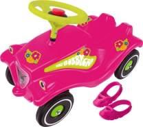 BIG - Bobby-Car Flower Power mit Schuhschoner und Flüsterreifen