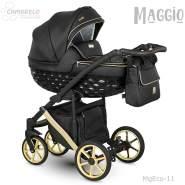 Camarelo Maggio Kombikinderwagen MgEco-11 schwarz/Gold (Eco)