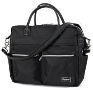 Emmaljunga Wickeltasche Travel Lounge Black Kollektion 2021
