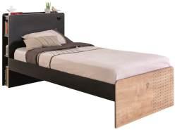 Cilek 'BLACK' Bett 100 x 200 cm natur/schwarz