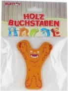 Besttoy Holzbuchstabe 'Y' orange