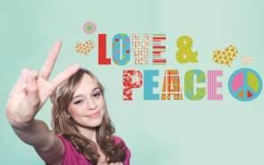 Deco-Sticker Love and Peace