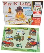 Creative Educational Early Years Play and Learn Land Transport