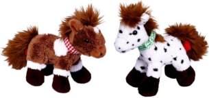 Pony Anton und Paco zum Aufziehen Mein kleiner Ponyhof (Lieferumfang: Ein Kuscheltier)