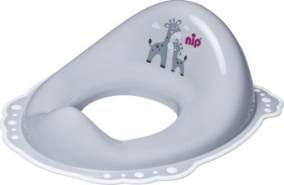 nip® Anti-Rutsch Toilettensitz für Kinder, grau