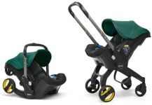 Doona+ - Babyschale Travelsystem 2-in-1 Racing Green Kollektion 2019