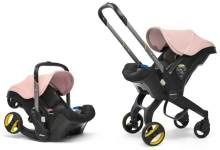 Doona+ - Babyschale Travelsystem 2-in-1 Blush Pink (Kollektion 2019)