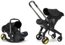 Doona+ - Babyschale Travelsystem 2-in-1 Nitro Black Kollektion 2019