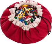 PlayGo Play&Go_5425038799507 Play & Go Classics Aufbewahrungstasche, Farbe, Durchmesser 140 cm, Rot, One Size