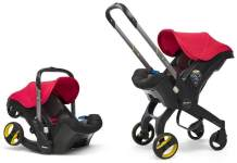 Doona+ - Babyschale Travelsystem 2-in-1 Flame Red Kollektion 2019
